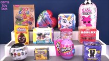 Surprise TOYS Opening Mash Up LOL Fuzzy PETS Shopkins Ugly DOLLS Roblox Puppy DOG PALS