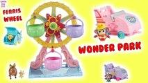 Wonder Park Ferris Wheel Surprise TOYS Coaster CARS Review Unboxing