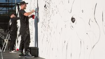 Artist Wizard Skull Wins Secret Walls at 2019 Dew Tour Long Beach