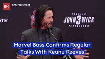 The Talk About Keanu Reeves In The Marvel Universe Is Real