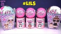 LOL LILS LIL SISTERS 4 5 Surprise DOLLS Glitter Series 1 Unboxing