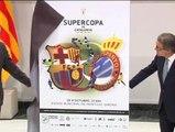 Artur Mas presenta la Supercopa de Catalunya entre Barça y Espanyol