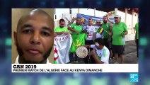 Yacine Brahimi, capitaine de l'équipe d'Algérie, sur France 24