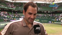 "ATP - Halle 2019 - Roger Federer defeated Jo-Wilfried Tsonga : ""I was lucky"""