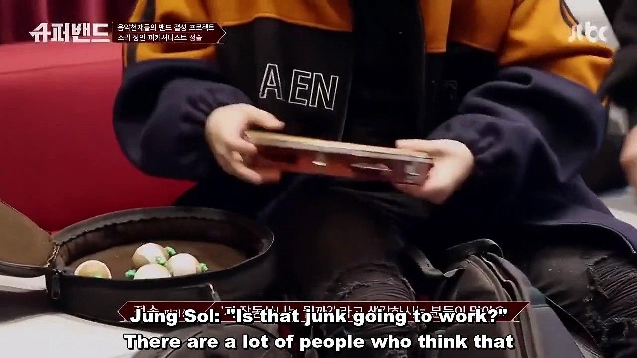 JTBC Superband Ep 1 part 2 eng sub