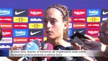 Polémica por el viaje del equipo femenino del Barça en turistas mientras los de Valverde iban en primera
