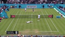 Andy Murray wins on return to action in doubles at Queen's Club