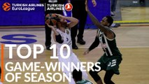 2018-19 Turkish Airlines EuroLeague: Top 10 Game-Winners!