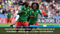 FOOTBALL: FIFA Women's World Cup: Fast Match Report - Cameroon 2-1 New Zealand