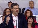 """Sánchez denuncia la """"gran coalición de intereses entre los extremos"""" para debilitar al PSOE"""