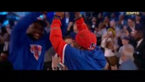 New York Knicks select RJ Barrett with 3rd Pick in 2019 NBA Draft and Spike Lee and Knicks fans celebrate 6-20-19