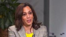 Kamala Harris defends her record on crime
