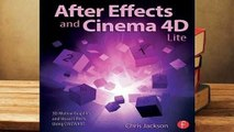 Online After Effects and Cinema 4D Lite: 3D Motion Graphics and Visual Effects Using Cineware  For