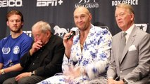TYSON FURY SENDS CLEAR WARNING TO DEONTAY WILDER, INSISTS - 'ITS COMING' , SAYS 'ONLY 2 HORSES LEFT'