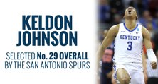 Spurs select Keldon Johnson in 2019 NBA Draft