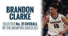 Grizzlies select Brandon Clarke in 2019 NBA Draft