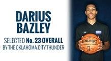 Thunder select Darius Bazley in 2019 NBA Draft