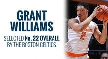 Celtics select Grant Williams in 2019 NBA Draft