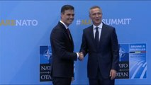 Líderes de la OTAN se dan cita en Bruselas