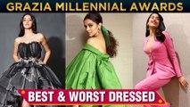 Ananya Panday, Deepika Padukone, Janhvi Kapoor   Best & Worst Dressed At Grazia Millennial Awards