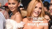 Zendaya, Lucy Hale & Lily Depp defend Bella against Whoopi Goldberg