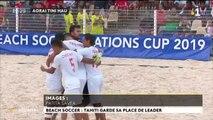 Beach soccer : la passe de trois pour Tahiti
