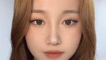 My eyelash tutorial ✨& kbeauty eye makeup idol / youis직모 속눈썹 My eyelash tutorial youis유이즈