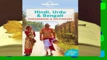PDF] Lonely Planet Hindi, Urdu Bengali Phrasebook (Lonely