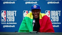 Reactions from some of the top international players in the NBA Draft