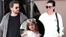 Kourtney & Scott Take Kids On Vacation Without Sofia Richie!