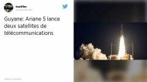 La fusée Ariane 5 réussit son décollage et met en orbite deux satellites de télécommunications