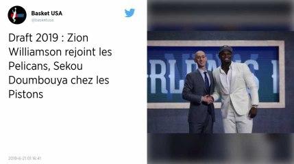 Draft NBA 2019 : Le phénomène Zion Williamson choisi par les New Orleans Pelicans