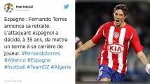 Football. À 35 ans, Fernando Torres met un terme à sa carrière