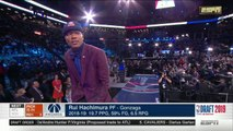2019 NBA Draft - 9th Pick - Rui Hachimura - Washington Wizards
