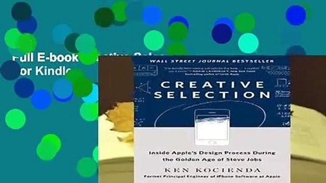 Full E-book Creative Selection  For Kindle