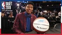 Rui Hachimura Makes History For Japan- - NBA Draft 2019