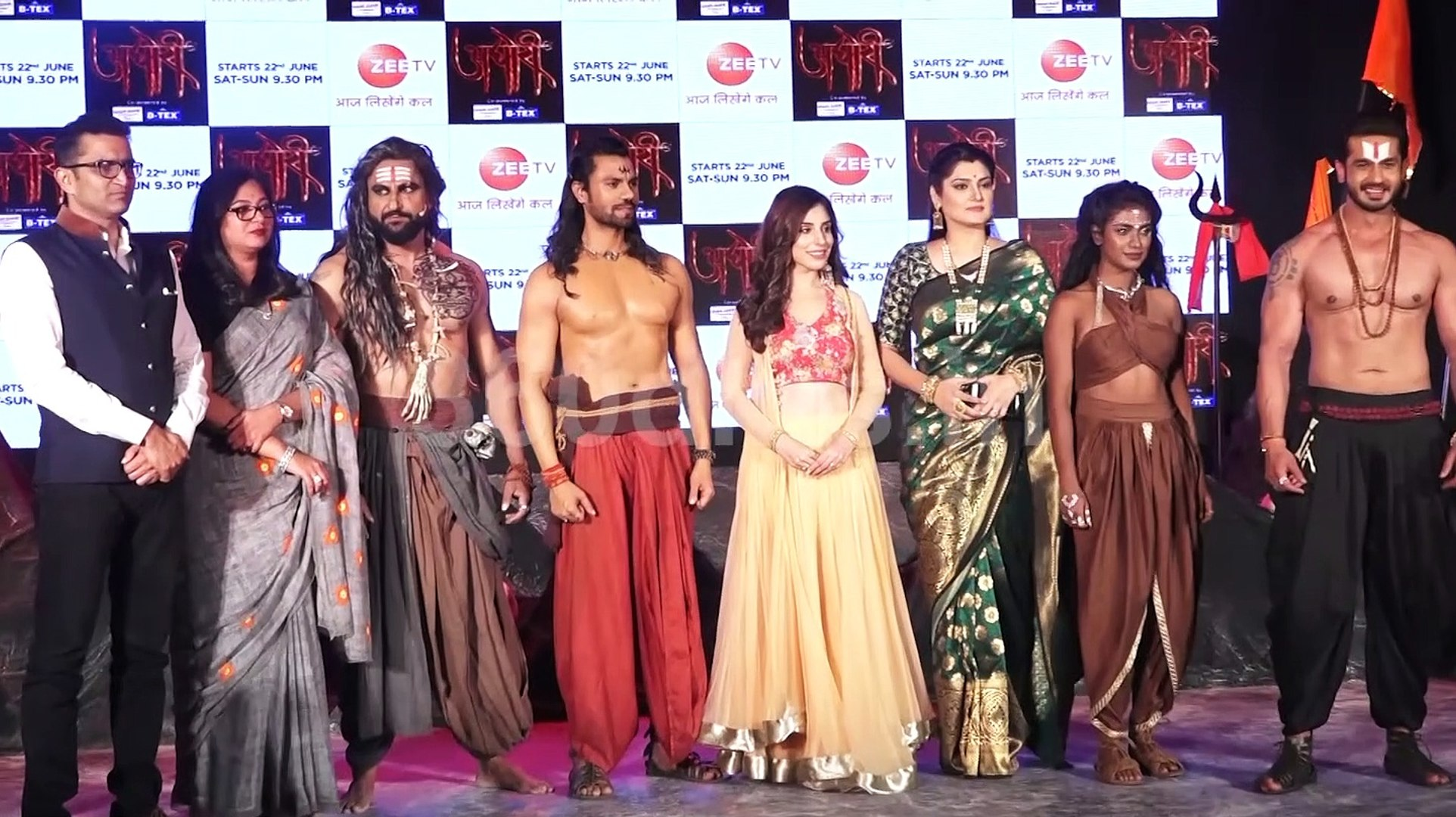 Launch of Zee TV New Serial Aghori with All Cast | Gaurav Chopra | Parag  Tyagi