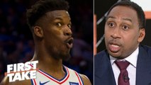 Jimmy Butler joining Harden, Chris Paul would be the 'stupidest thing' – Stephen A. - First Take