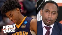 Is Ja Morant a can't-miss prospect? Stephen A. isn't sold but Max Kellerman says yes - First Take