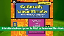 Full E-book Culturally and Linguistically Responsive Teaching and Learning (Second Edition) (