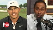 Brooks Koepka on taking confidence cues from Kevin Durant, Tiger Woods, more - Stephen A. Smith Show