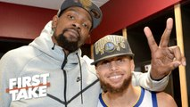 Stephen A.: Steph Curry and KD the 4th-best NBA duo of all time - First Take