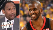 Stephen A. explains how a Chris Paul trade to the 76ers would work for Philly, Rockets - First Take
