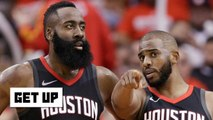 Harden-CP3 alleged beef is 'the door slamming shut' on the Rockets' title hopes - Greenberg - Get Up