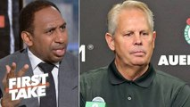'Enough is enough-' – Stephen A. calls out Danny Ainge's failures as Celtics GM - First Take
