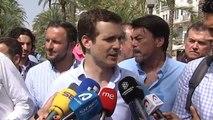 """Casado, a Santamaría: """"La soberbia no hace ganar congresos, pero sí hace perder elecciones"""""""