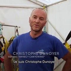 """4G Haute-Savoie - Témoignage de Christophe Dunoyer, gérant de """"Annecy Canyoning"""""""