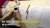 Bac 2019 : les sujets de mathématiques de la série S
