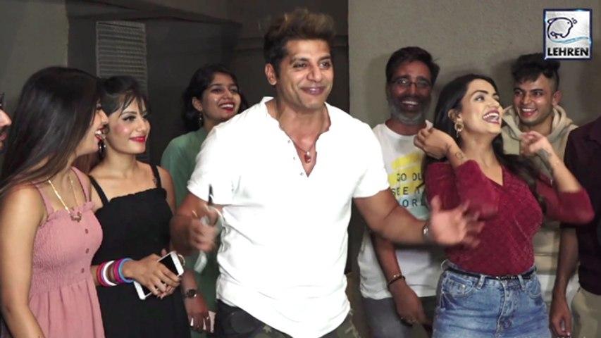Karanvir Bohra's Fun Time With  TIK TOK Influencers