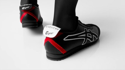 "Givenchy insuffle l'excellence couture aux sneakers ""Mexico 66"" d'Onitsuka Tiger"